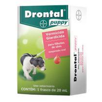 Vermífugo Drontal Puppy Suspensão 20ml Bayer -