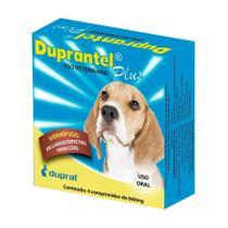 Vermífugo Duprantel Plus para Cães com 4 Comprimidos - Laboratório Duprat