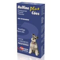 Vermífugo Helfine Plus Cães (4 Comprimidos) - Agro Aves