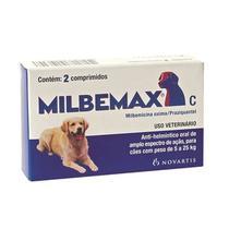 Vermifugo Milbemax Cães 5 A 25 KG - Elanco