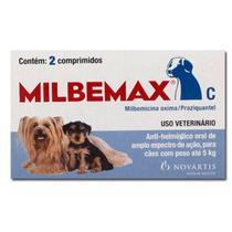 Vermifugo Milbemax Para Caes Ate 5kg - Elanco -