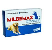 Vermifugo Milbemax Para Caes De 5kg A 25kg Com 2 Comprimidos - Elanco