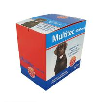 Vermífugo Multitec 1200mg Cães 15kg Syntec Display 12 cx 4 comprimidos -