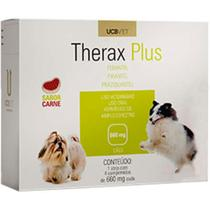 Vermifugo Therax Plus para Cães- 4 comprimidos (660 mg) - Theraplus