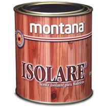 Verniz Isolante Para Madeiras Isolare 900ml Incolor Montana -