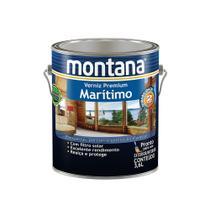 Verniz marítimo acetinado natural 3,6L Montana -