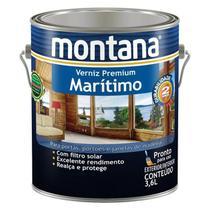 Verniz Marítimo Montana Natural Brilhante 3,6lts -