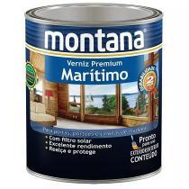 Verniz Maritimo Natural Montana Premium Madeira 900ml -