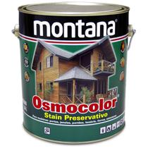 Verniz Osmocolor Stain Natural UV Gold 3,6 Litros Montana -