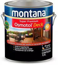 Verniz Osmotol Deck Semi Brilho Natural Montana 3,6 Litros -