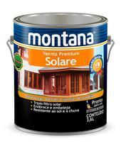Verniz Premium Solare Acetinado Montana 3,6 litros -