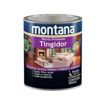 Verniz tingidor brilhante imbuia 900ml Montana -