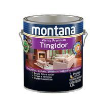Verniz tingidor brilhante mogno 3,6L Montana -