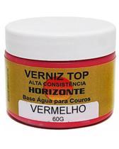 Verniz - Top Creme - Maximo Brilho - Cor: VERMELHO - Horizonte