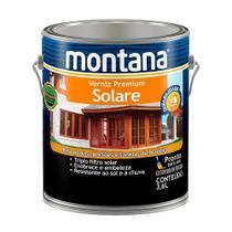 Verniz Triplo Filtro Solar Natural -  5 Anos Solare Montana 3,6 Litros -