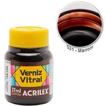 Verniz Vitral Marrom 531 Acrilex -