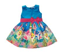 Vestido Baby Shark Infantil Festa Temático - Atelie Iza Rocha