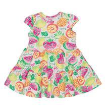 Vestido Bebê Momi Rotativo Frutinha Boa -