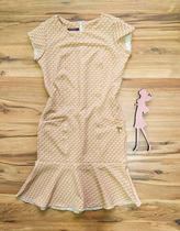 Vestido Crepe Coren  Saia Bella SB5120 - I -