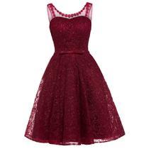 Vestido Curto Vermelho de Festa Debutante 15 Anos Noiva Brilho '99b' - Life