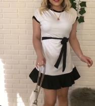 Vestido de babado - H&C MODAS