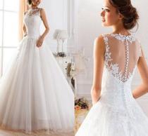 Vestido De Casamento Noiva e Debutante 15 anos Lindo Pronta Entrega Cód.01 - Life
