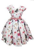 Vestido de festa infantil borboletas encantadas - Giovanella