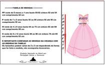 Vestido de festa junina caipira infantil com luva elaço de cabelo m - PARTYLIGHT