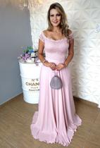 Vestido de Festa Plus Size Rose - Casamento, Madrinha Lindo - Grife Velasco