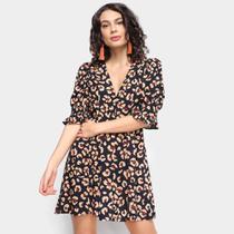 Vestido Farm Onça Flor -