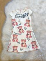 Vestido feminino infantil tamanho 8 anos Infanti -