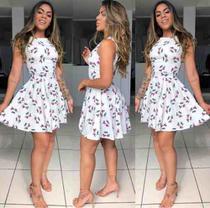 Vestido Feminino Midi Estampado - Rsl