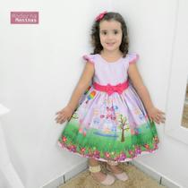 Vestido festa infantil da Peppa Pig - Moderna Meninas