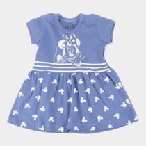Vestido Infantil Disney Minnie Striped Feminino -