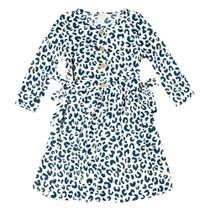 Vestido Infantil Hering Animal Print -