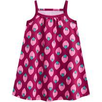 Vestido Infantil Kyly Meia Malha Pink -