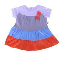 Vestido Infantil Listrado com Laço - Sassy