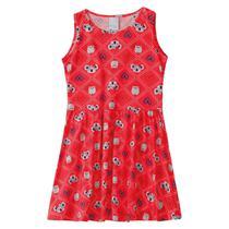 Vestido Infantil Menina Malwee Kids Coala Vermelho -