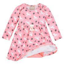 Vestido Infantil Milon Estampado C/ Body -