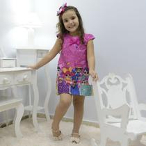 Vestido infantil mínis bonecas Lol surprise glitter confete - fashion - Moderna Meninas