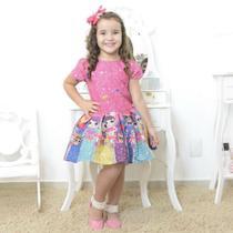 Vestido infantil mínis bonecas Lol surprise glitter confete - smart - Moderna Meninas