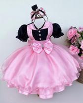 Vestido Infantil Mundo Bita, Poderosa Chefinha, Minnie, Circo - Tematico