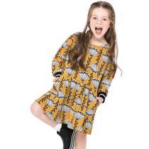 Vestido Infantil Nanai Moletinho Leve -