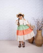 Vestido infantil - Rr mundo da criança