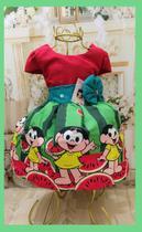 Vestido Infantil tema Magali Verde - Primicias