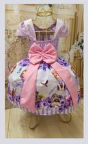 Vestido Infantil tema Princesa Sofia Novo - Primicias