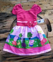 Vestido Infantil Temático Peppa Pig - Online Fashion