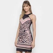 Vestido Lança Perfume Básico Sem Mangas -