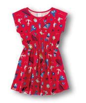 Vestido Menina Marisol Play Vermelho Estampado -