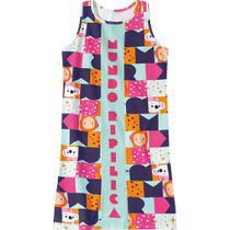 Vestido Mundo Ripilica Infantil - 11400107I - Lilica Ripilica